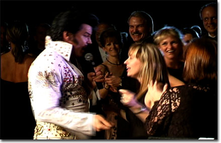 picture of Elvis with guests