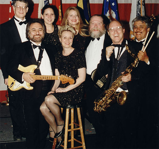 picture of David Perkoff's Little Big band