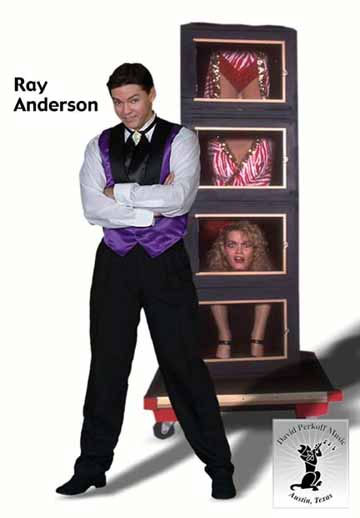 picture of entertainer magician Ray Anderson