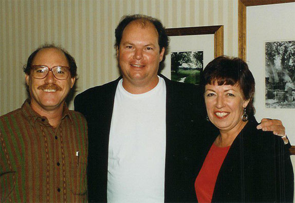 picture of David and Chris with Christopher Cross
